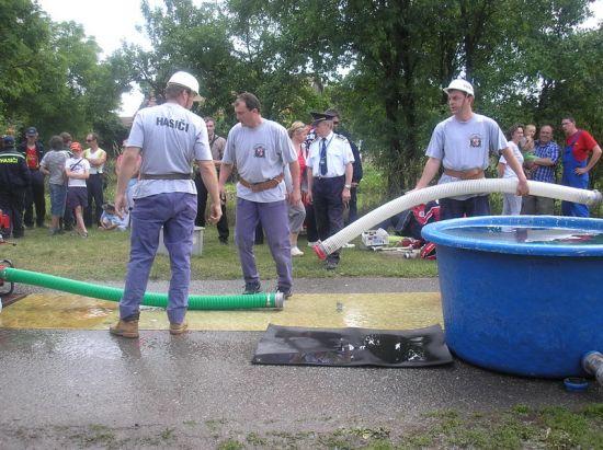 cvičení o pohár starosty Sovětice 2008
