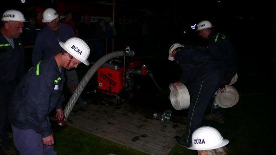noční cvičení Hoříněves 2008