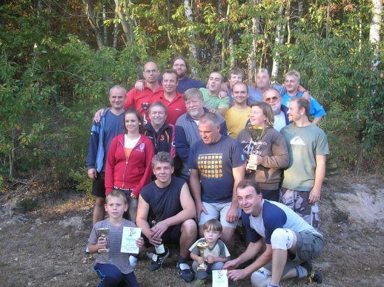 Nohejbalové utkání na Chloumku - na bedně 3.místo