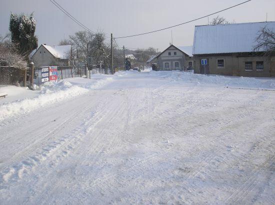 Zima sníh a led na Votuzi 2009-2010