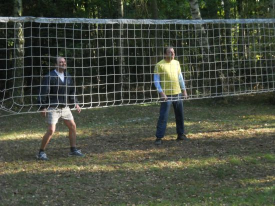 Volejbalové utkání na Chloumku - na bedně 3.místo