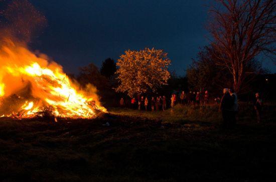 pálení čarodějnic 2013