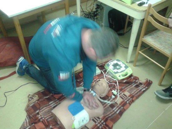 Školení hasičů - první pomoc